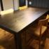 制作家具 ホワイトアッシュ製テーブル
